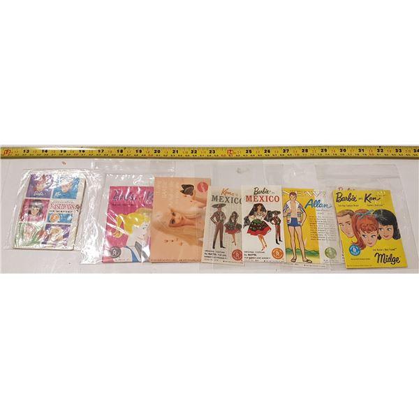 Lot of Barbie/Ken Booklets & Leaflets (9)