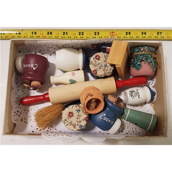 Lot of Doll House Accessories