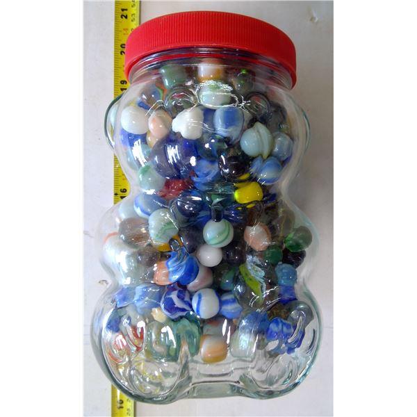 Kraft Jar of Marbles