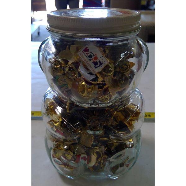 Kraft Honey Jar with Lapel pins