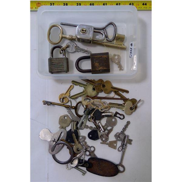 Lot of Misc. Keys & Loks