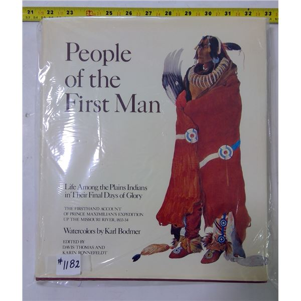 """Art Book, """"People of the First Man"""", 1976"""