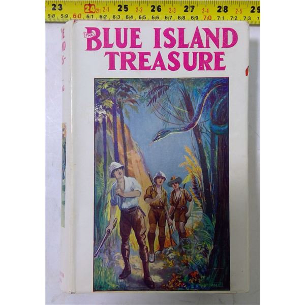 """""""Blue Island Treasure"""" by Clarence Pointing, 1935"""