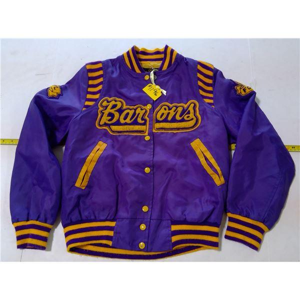 Baron's Basketball Jacket, size 34