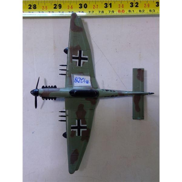"""Stuka-JU 876-1 Metal Plane, Folding Landing Wheels 5.25"""""""