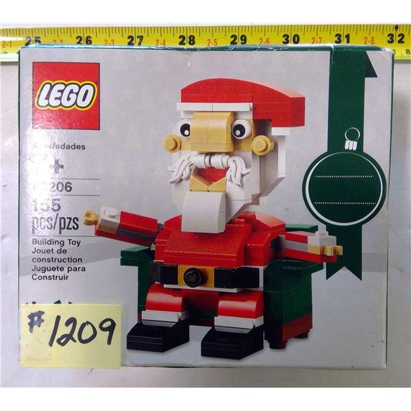 LEGO 40206, Santa, 155 Pieces, Unopened