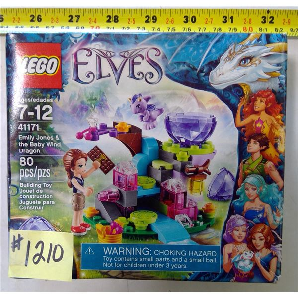 LEGO 4171, Elves, Emily Jones & Bab Wind Dragon