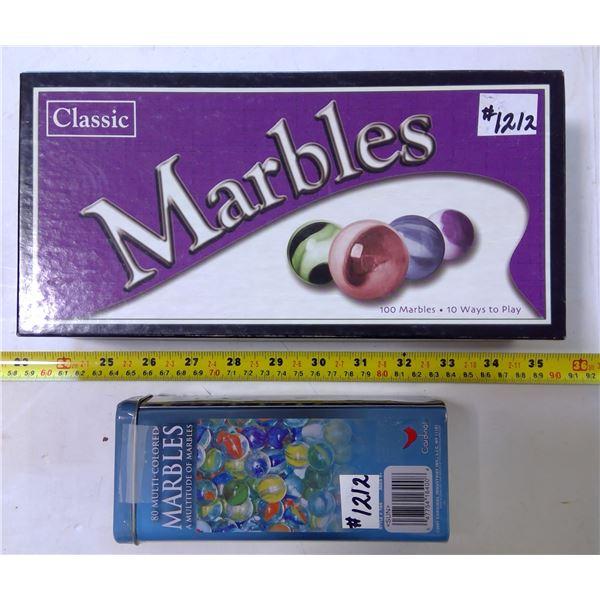 2 Marble Games - Unused