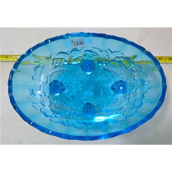 Blue Footed Fruit Bowl Centerpiece
