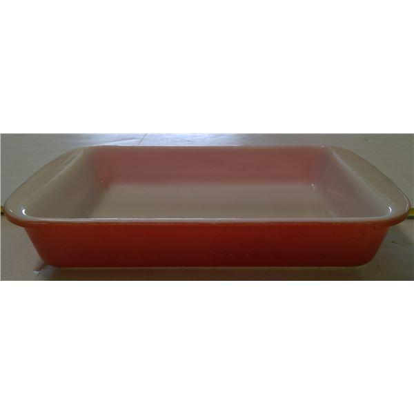 """PYREX Desert Rose Baking Dish, 12""""x7"""""""