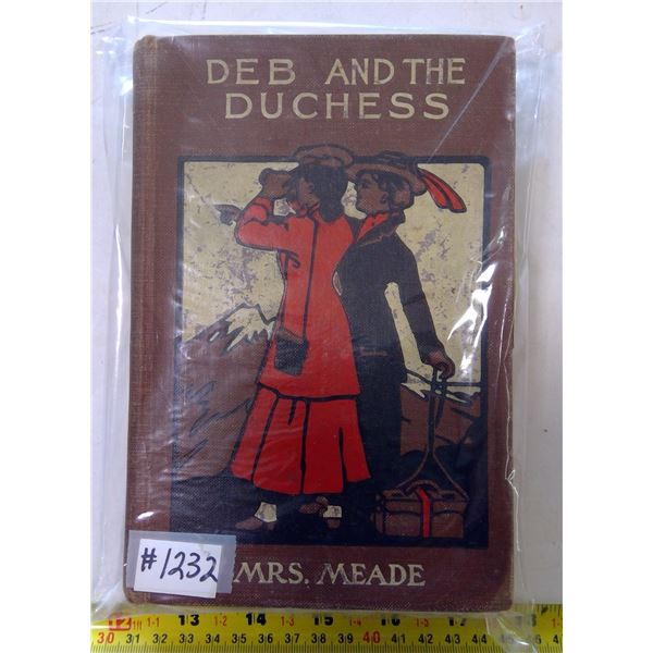 """Deb and the Duchess"" by Elizabeth Meade, inscribed Dec.25, 1913"