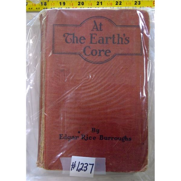 """At the Earth's Core"""" by Edgar Rice Burroughs, 1922"""