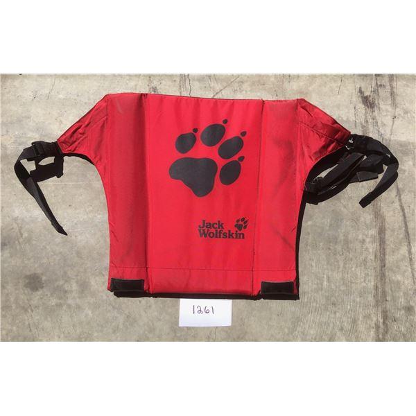 Jack Wolfskin dog life jacket