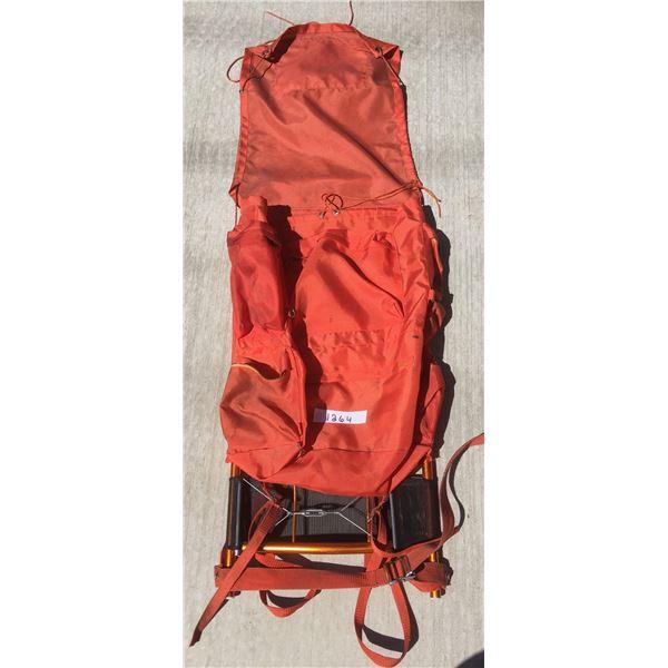 The Jasper, Orange Hiking pack with frame