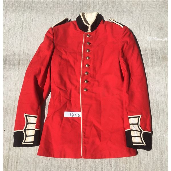 Canadian Military red tunic military coat