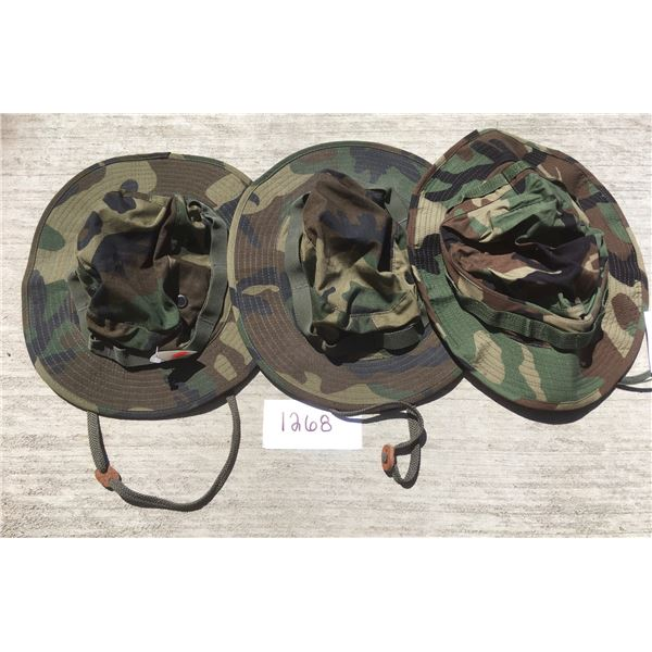 3 New US Military Boonie hats