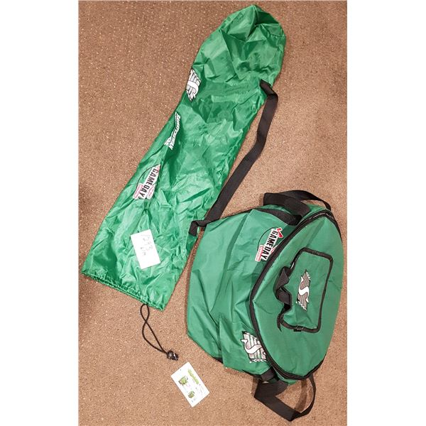 Saskatchewan Roughriders/Co-op Game Day Zip Up Cooler with Bag (No Stands included)