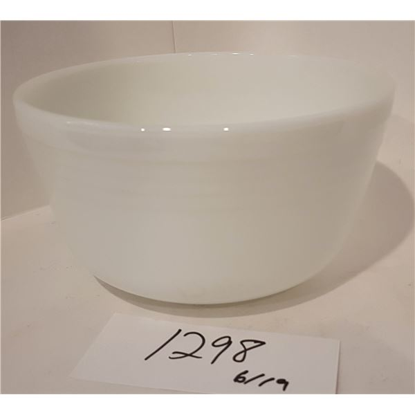 Milk White Pyrex Bowl - Made in the USA