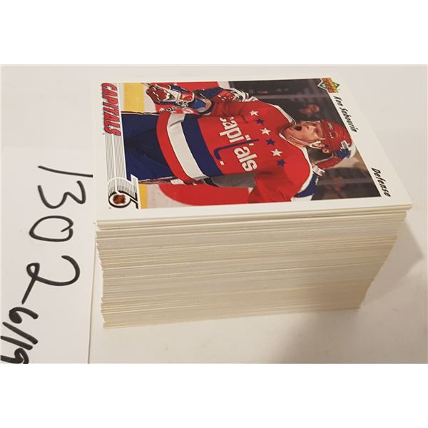 1991 NHL Upper Deck Hockey Cards - 130+ Cards (Unsorted)
