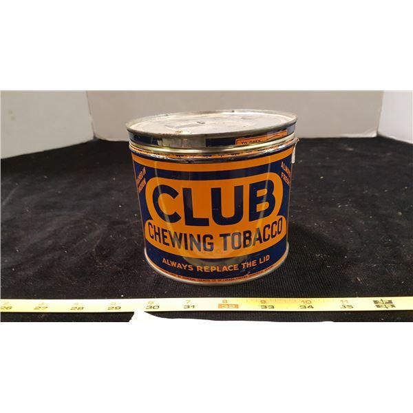 Club Tobacco Tin