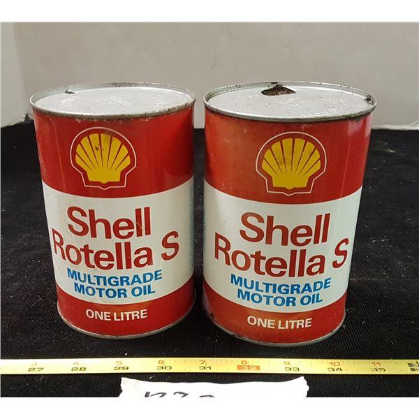 2 Shell Tins