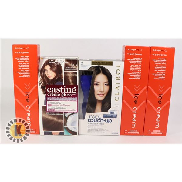 L'OREAL, ICE CREAM & CLAIROL, HAIR PRODUCTS