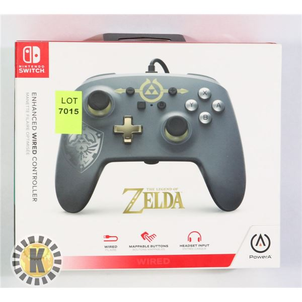 ENHANCED NINTENDO SWITCH WIRED CONTROLLER