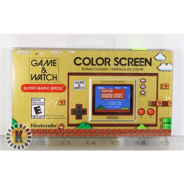 GAME & WATCH COLOR SCREEN