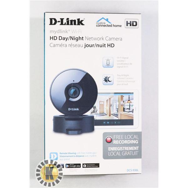 D-LINK HD DAY/NIGHT HD CAMERA