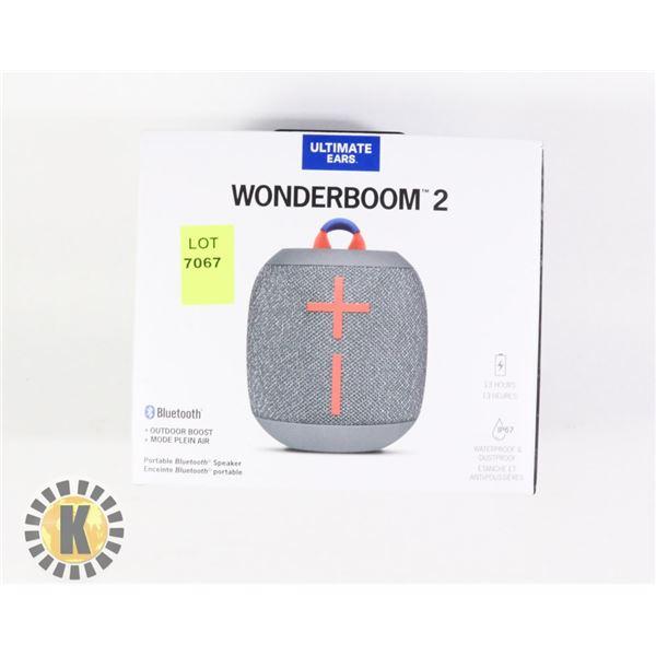 WONDERBOOM 2 WIRELESS SPEAKER
