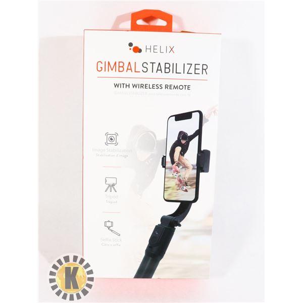 GIMBAL STABILIZER WITH WIRELESS REMOTE