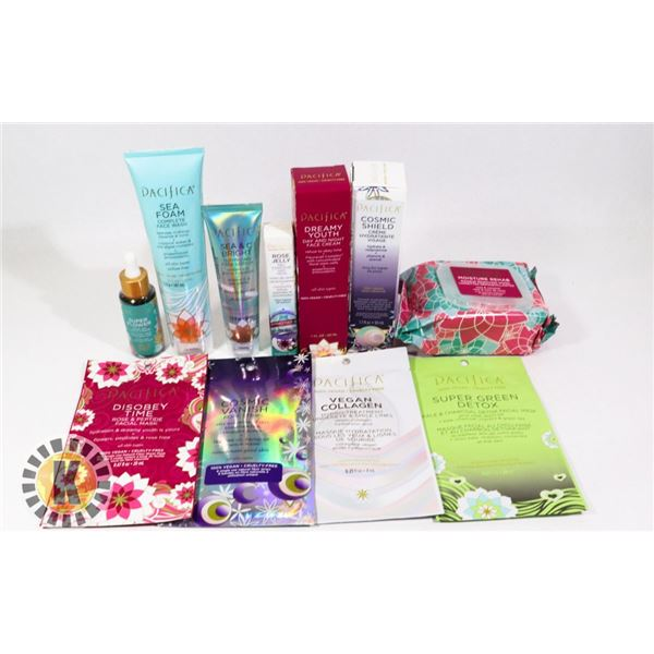 BAG OF ASSORTED HEALTH AND BEAUTY PRODUCTS