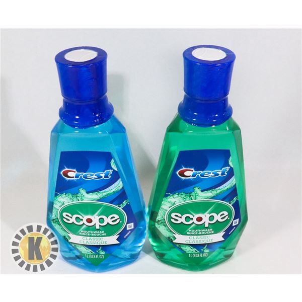 CREST SCOPE MOUTH WASH