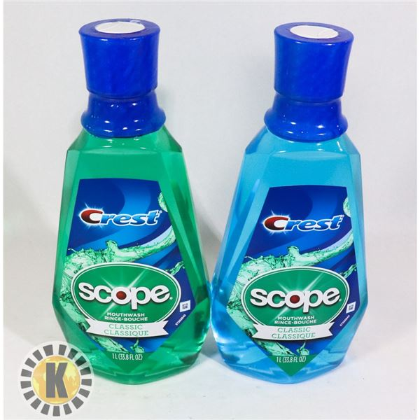 BAG OF COLGATE SCOPE MOUTH WASH