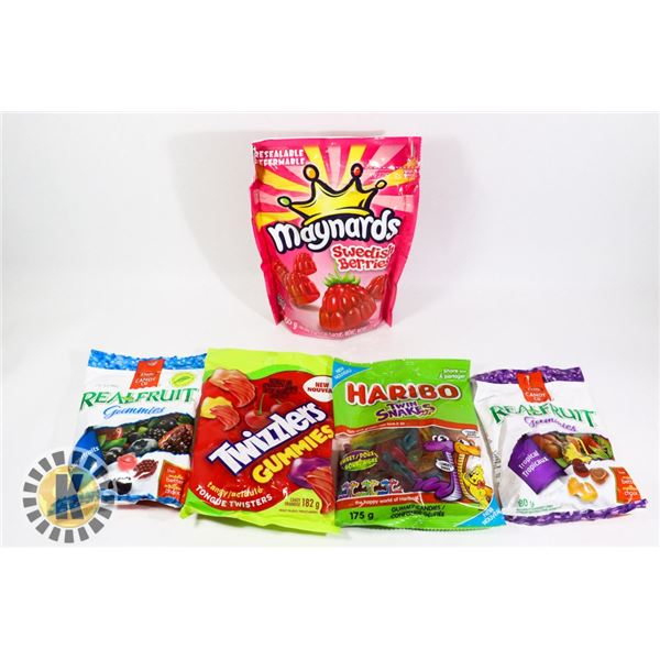 BAG OF ASSORTED CANDY
