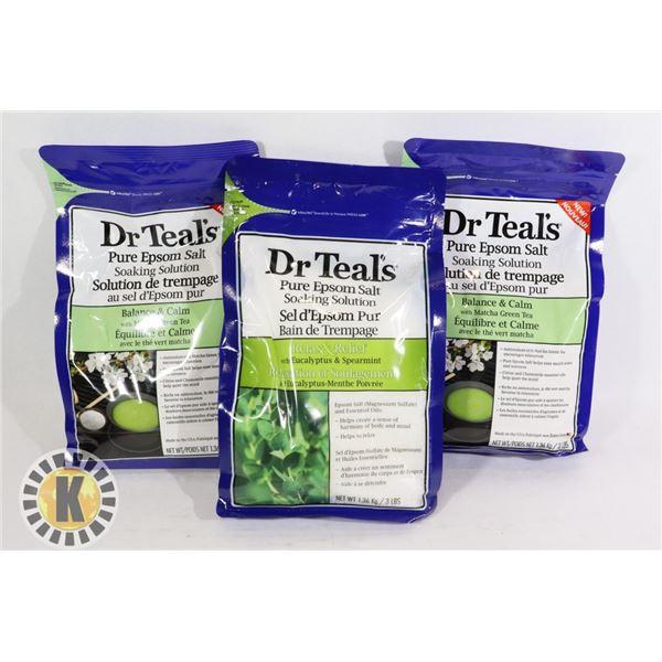 BAG OF DR. TEALS PURE EPSOM SALT SOAKING SOLUTION