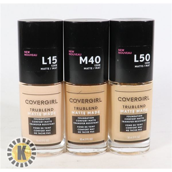 BAG OF COVER GIRL COSMETIC MAKE-UP