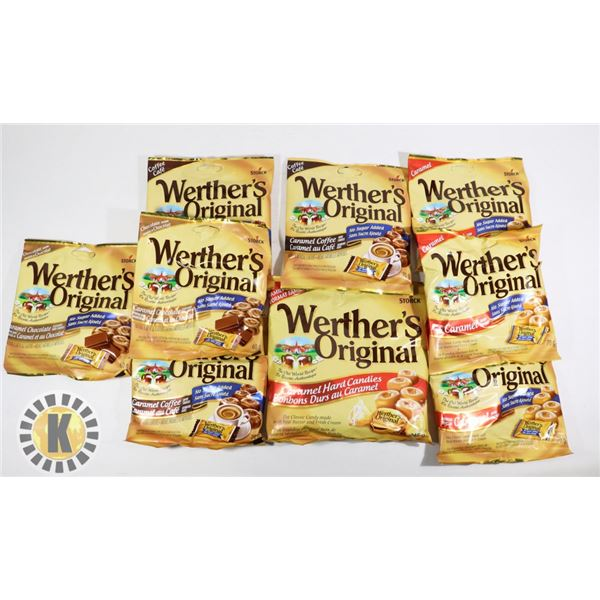 BAG OF WEATHER'S ORIGINAL CANDY
