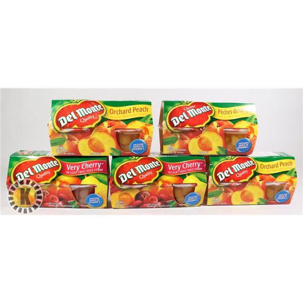 BAG OF DEL MONTE FRUIT SNACKS