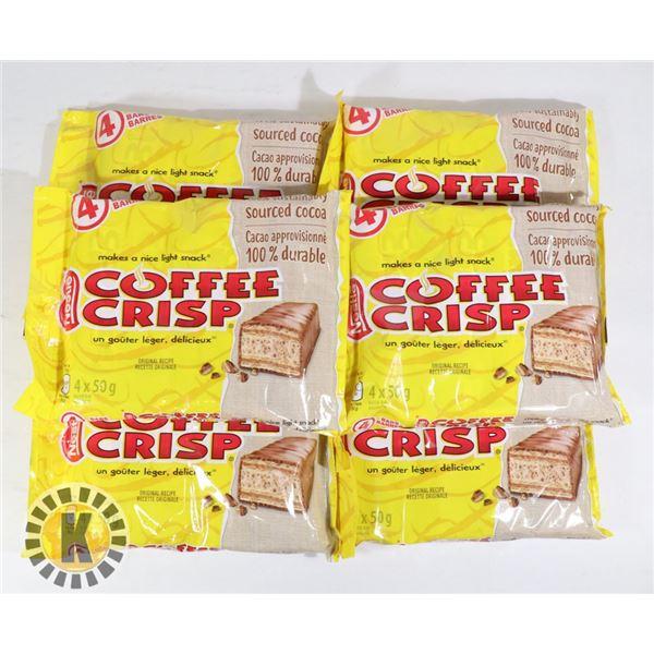 BAG OF COFFEE CRISP CHOCOLATE