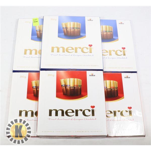 BUNDLE OF MERCI CHOCOLATE