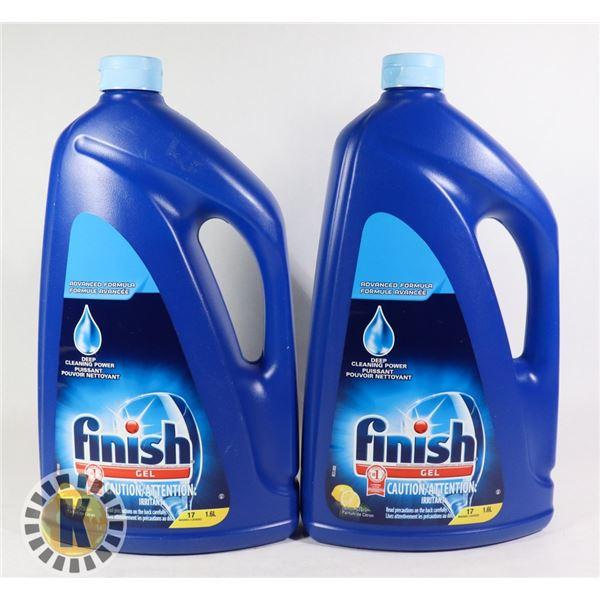 2 1.6L FINISH LIQUID DISHWASHER SOAP