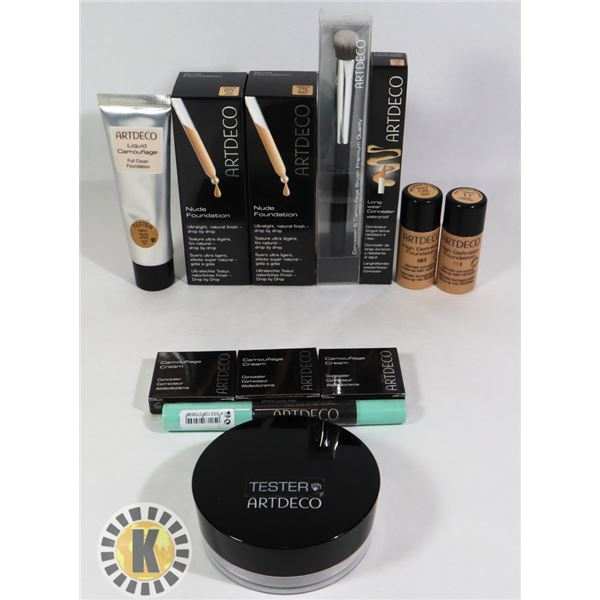 ASSORTED BAG OF NEW ARTDECCO COSMETIC ITEMS
