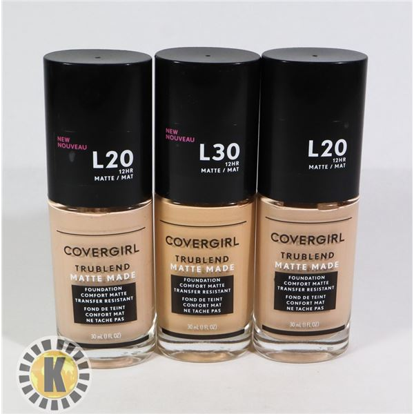 BAG OF COVERGIRL FOUNDATION