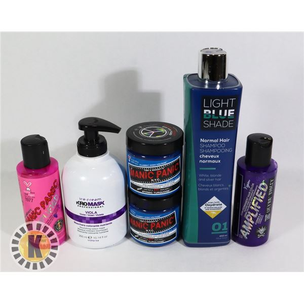 ASSORTED BAG OF HAIR PRODUCTS