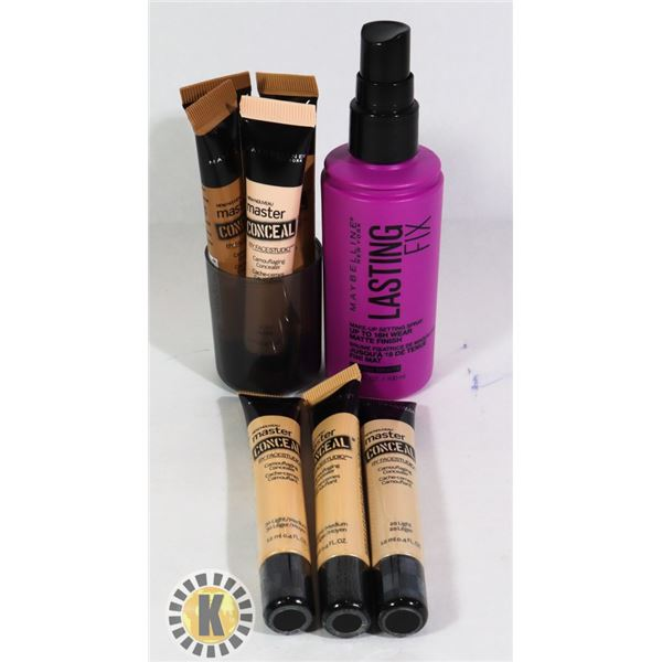 NEW MAYBELLINE FOUNDATIONS