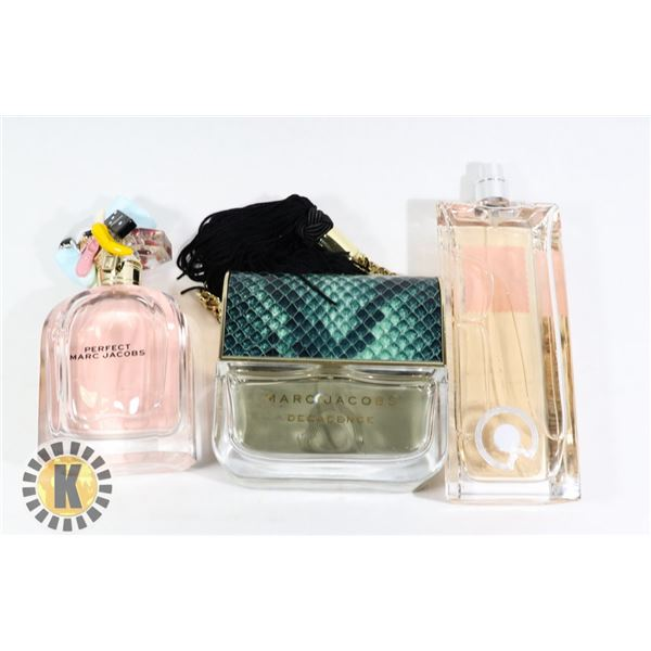 ***TESTERS, BAG OF GIVENCHY AND MARC JACOBS  PERFUME