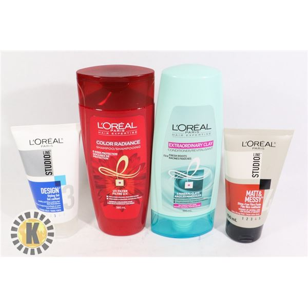 L'OREAL HAIR TREATMENT PRODUCTS