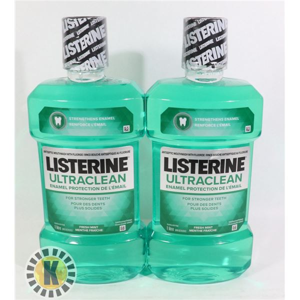 LISTERINE ULTRA CLEAN MOUTH WASH
