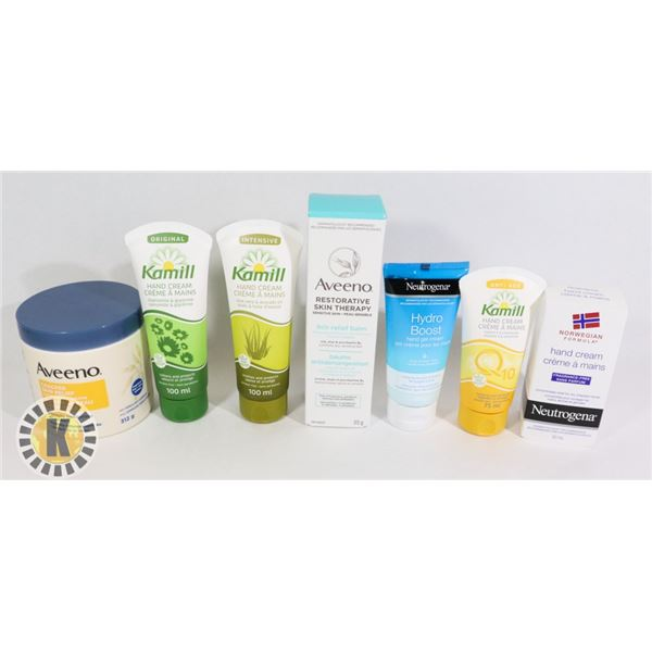 BAG OF ASSORTED SKIN CARE PRODUCT